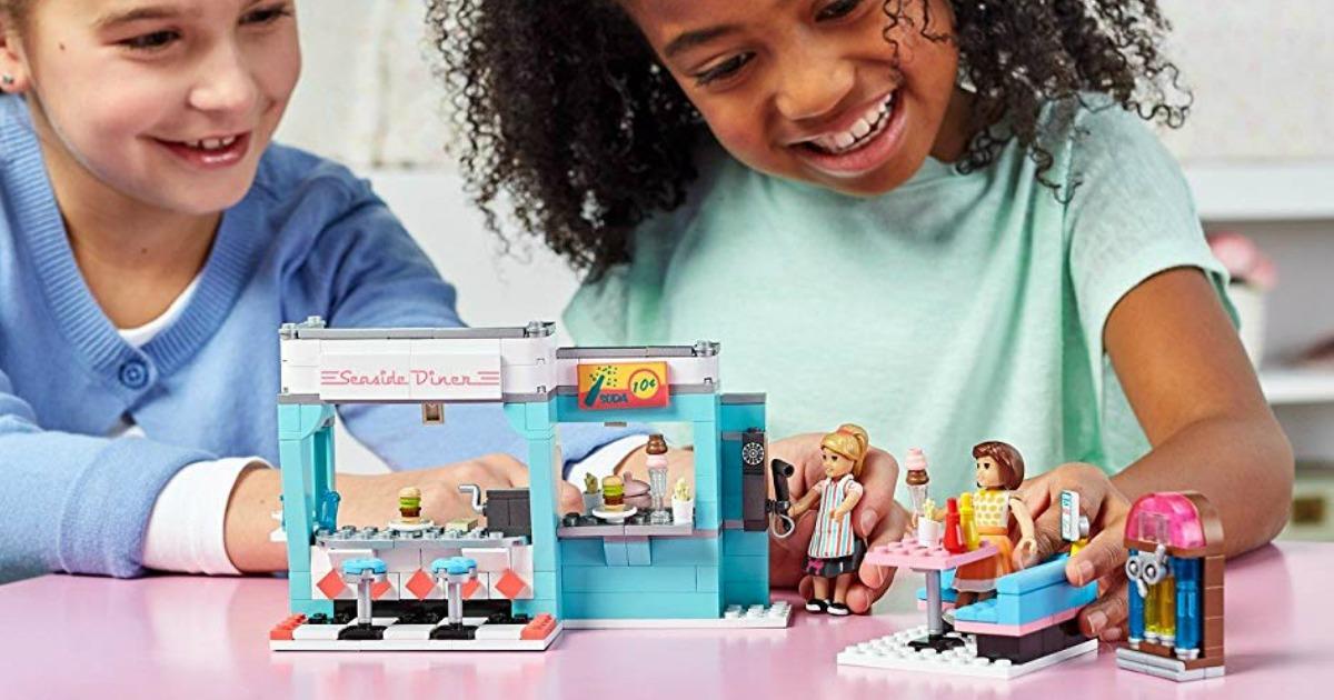 Mega Construx American Girl Maryellen/'s Seaside Diner Building Set Mattel CHOP