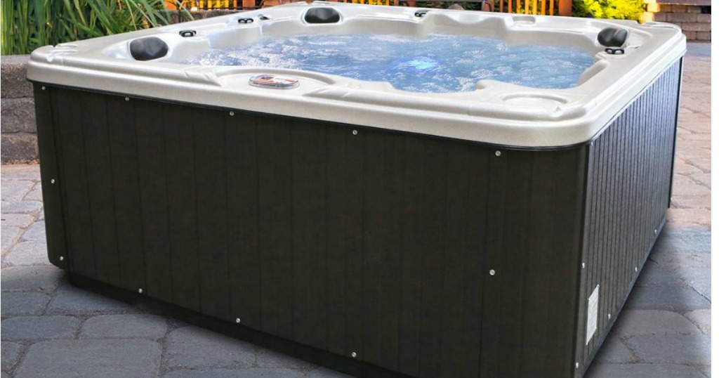Free Hot Tub >> Over 40 Off Hot Tubs Free Shipping At Home Depot Hip2save