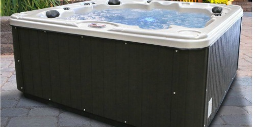 Over 40% Off Hot Tubs + Free Shipping at Home Depot