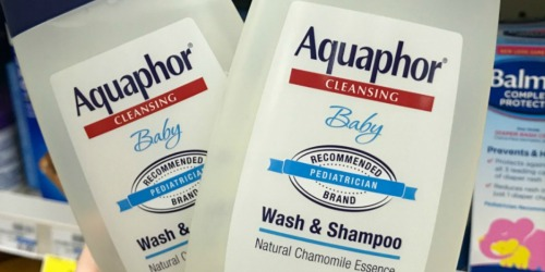 BIG Aquaphor Baby Wash & Shampoo 25.4 Ounce Bottle Only $6.85 Shipped on Amazon