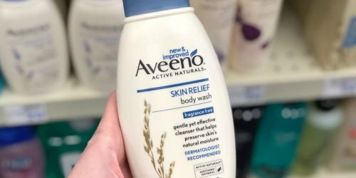 Aveeno Skin Relief Body Wash 3-Pack Only $7.49 (Regularly $21) – Ships w/ $25 Amazon Order