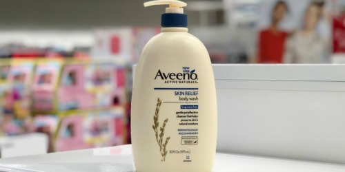 Over 40% Off Aveeno Products at Amazon