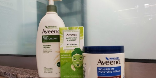 $15 Worth of New Aveeno Coupons