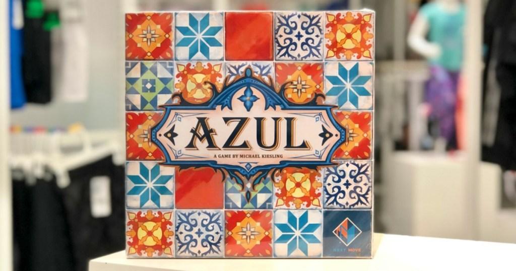 Azul board game on counter