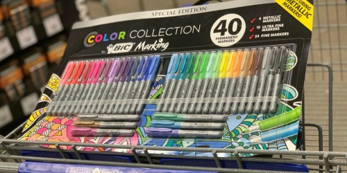 BIC 40-Piece Marker SetPossibly Only $4.91 at Sam's Club