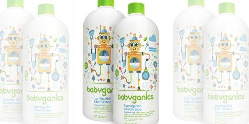 Babyganics Foaming Dish & Bottle Soap 2-Pack Only $7.94 Shipped at Amazon