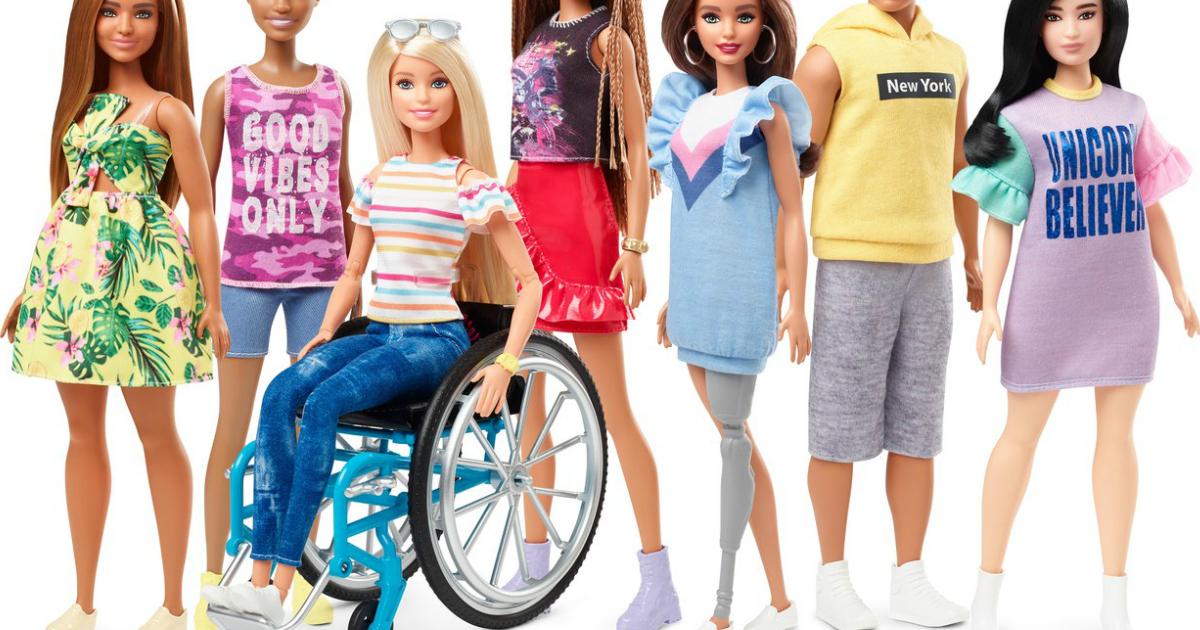 Barbie 2019 Fashionistas Collection