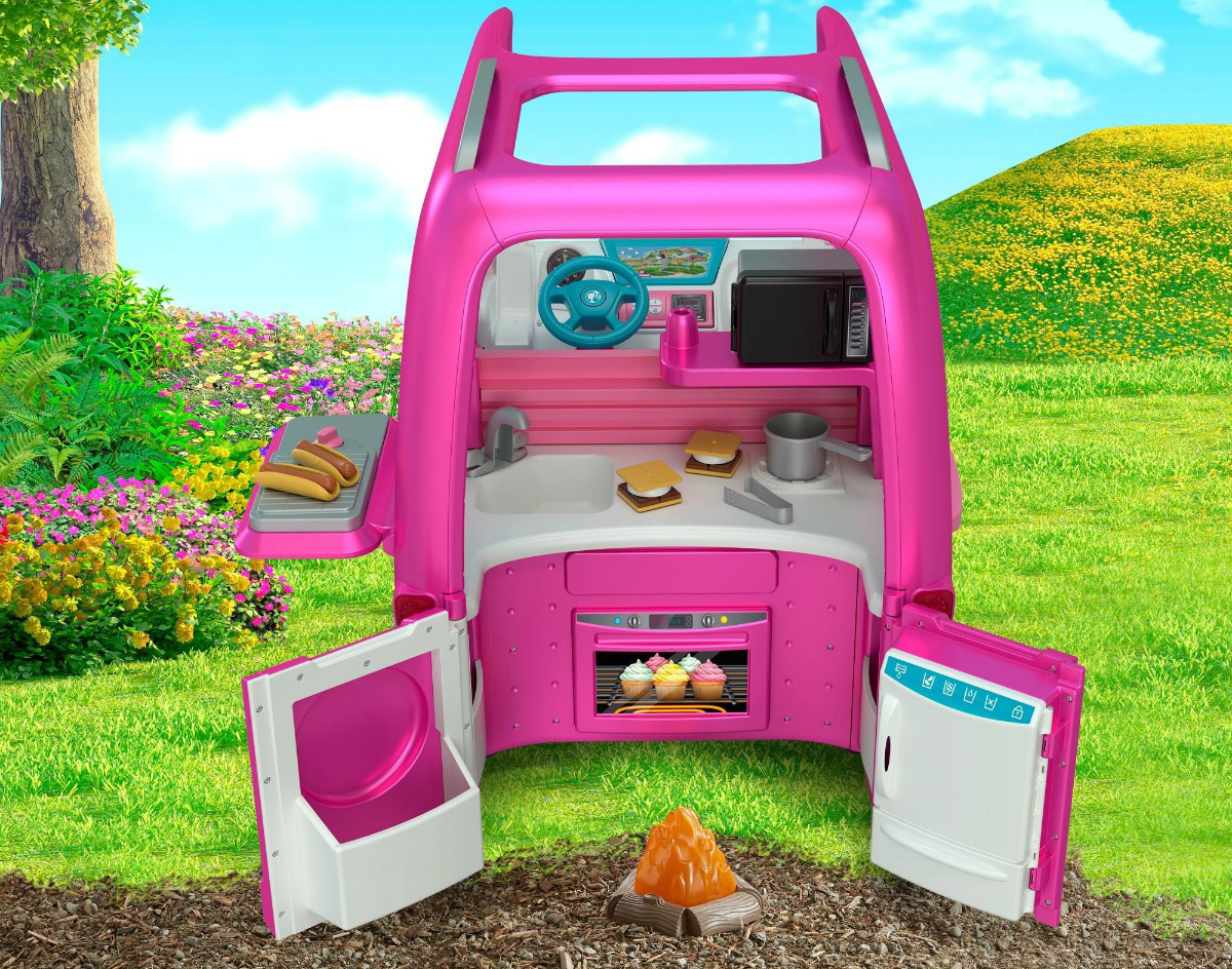 Barbie Dream Camper from the back