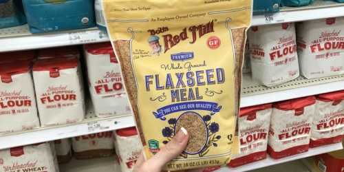 Over 50% Off Bob's Red Mill Flaxseed Meal at Target + More