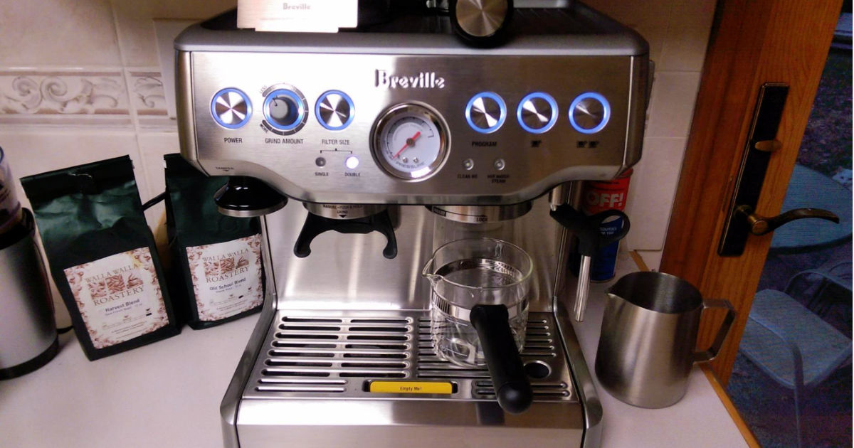 Amazon | Breville Barista Express Espresso Machine Only $449.99 Shipped (Great Reviews)