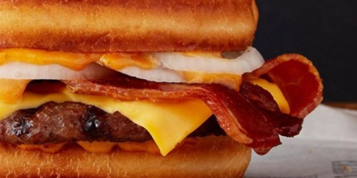 Burger King Sourdough Burger Just 1¢ w/ First Mobile Order