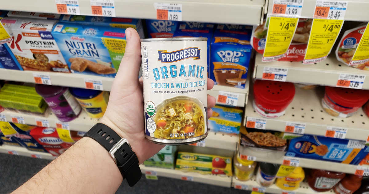 photograph regarding Organic Coupons Printable named Progresso Natural and organic Soups Just 25¢ Just about every As soon as CVS Added benefits