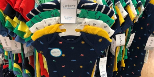 Carter's Baby Bodysuit 5-Packs as Low as $6 at Kohl's (Regularly $26)