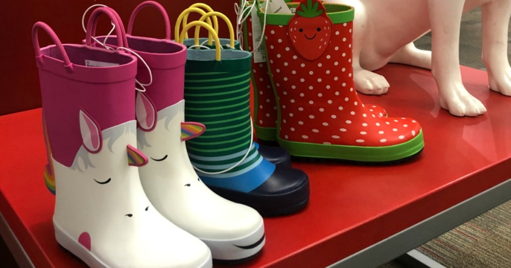 08ac31ab8  10 Off  40 Shoes   Apparel Purchase at Target   Nice Deals on New Rain  Boots