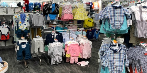 Up to 60% Off Cat & Jack Baby & Toddler Apparel at Target (In-Store & Online)