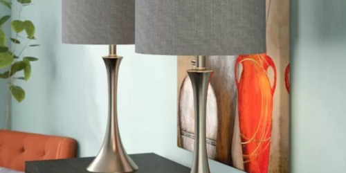 Chesterfield 2-Piece Table Lamp Set Only $64 Shipped (Regularly $100) – Just $32 Each + More
