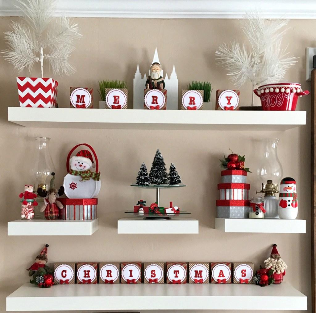 Christmas mood wall