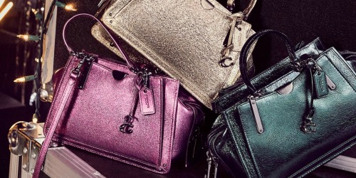 Up to 60% Off Coach Handbags at Macy's