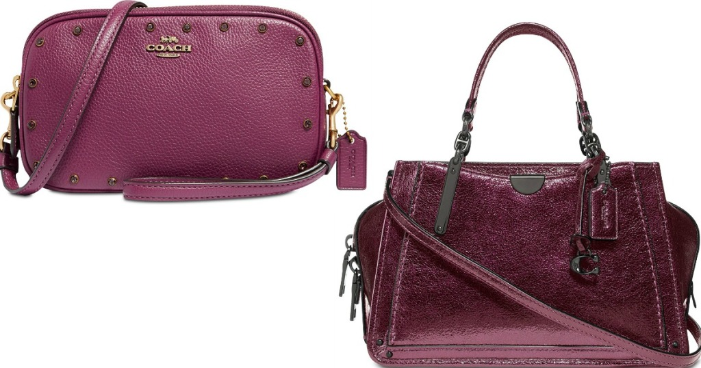 ca412ffc07 Up to 60% Off Coach Handbags at Macy's - Hip2Save
