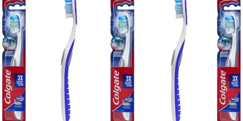 Amazon: Colgate 360° Total Advanced Toothbrush Only $1.54 Shipped