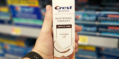 Crest 3D White Whitening Therapy Coconut Oil Toothpaste – Now Available at Walmart