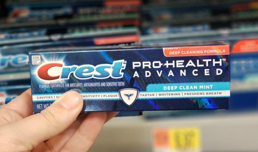 Crest Pro-Health Advanced toothpaste at Walmart