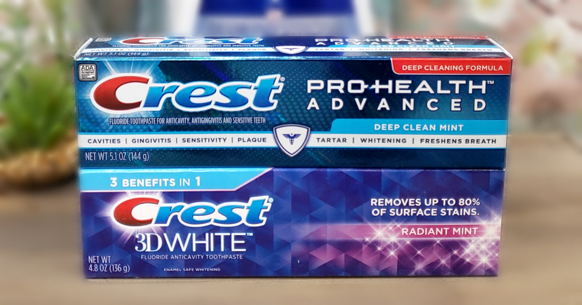 High Value 2 1 Crest Toothpaste Coupon Score Toothpaste For