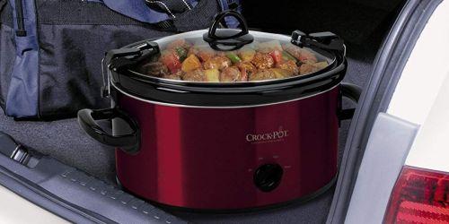 Crock-Pot 6-Quart Cook & Carry Slow Cooker Just $19 (Regularly $50)