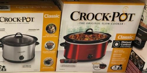 Crock-Pot 6-Quart Cook & Carry Slow Cooker Only $19.35