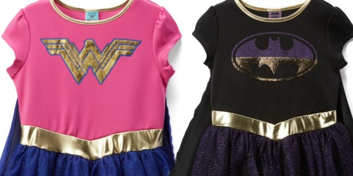 DC Comics Girls Dresses Only $9.99 at Zulily (Regularly $30+)