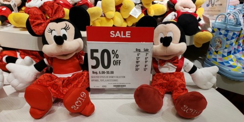 Disney Valentine's Day Plush Only $9 at JCPenney (Regularly $18)