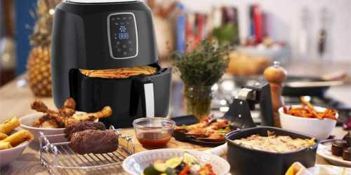 Highly Rated Emerald 5-Liter Digital Air Fryer Just $49.99 Shipped (Regularly $140)