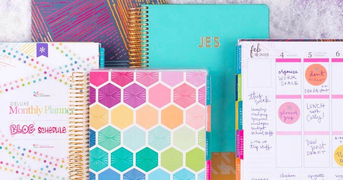 picture about Erin Condron identify Up toward 55% Off Erin Condren Everyday living Planners - Hip2Help save