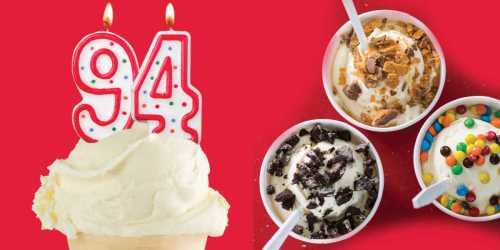 94¢ Single Custard at Freddy's Frozen Custard & Steakburgers