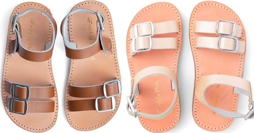 f520890a8 For a limited time only, hop on over to Zulily where they are offering Freshly  Picked Rockaway Kids Sandals for just $22.99 (regularly $40)!