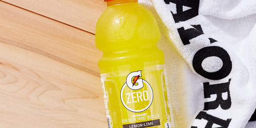 Gatorade 36-Pack Only $16.29 Shipped at Amazon (Just 45¢ Per Bottle)