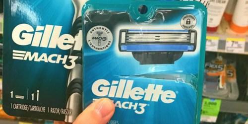 Up to 50% Off Gillette Razor Refills on Amazon