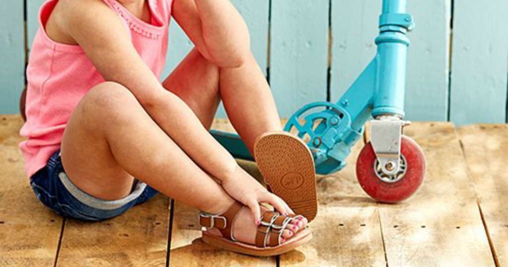 091045d35 Freshly Picked Leather Kids Sandals Only  22.99 (Regularly  40 ...