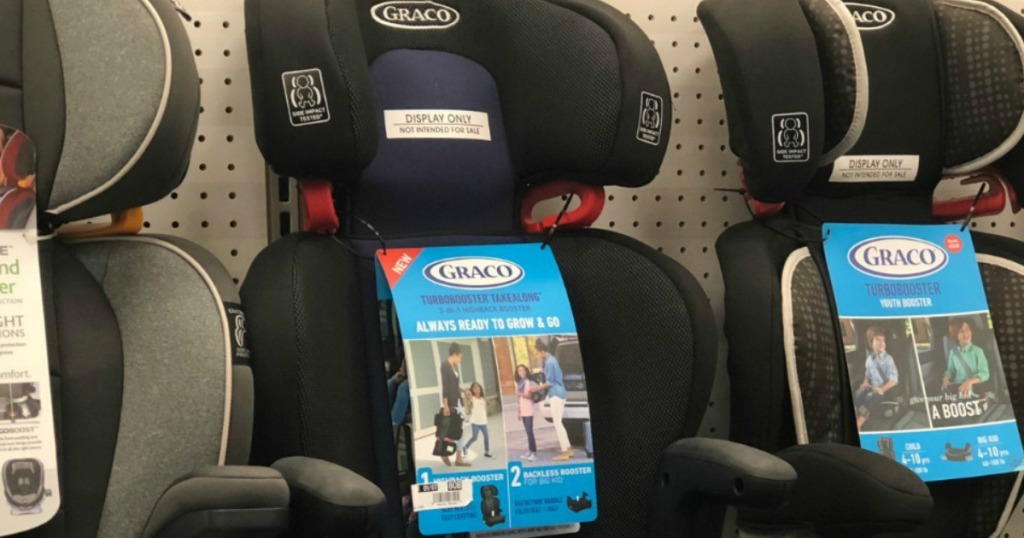 Graco TurboBooster on shelf at target