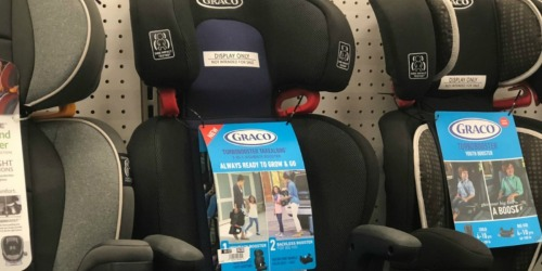 Graco Turbobooster Take Along Booster Car Seat Only $39.99 Shipped