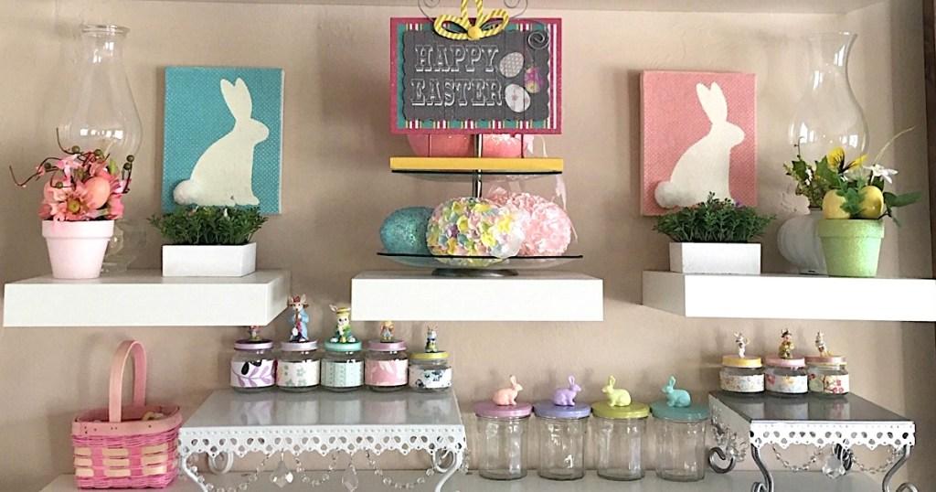 Happy Easter Mood Wall
