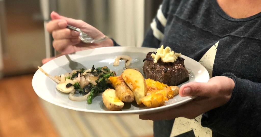Home Chef steak potatoes meal