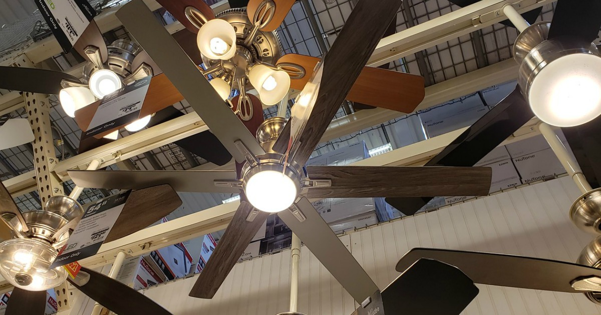 Up To 35 Off Ceiling Fans Amp Light Fixtures Free