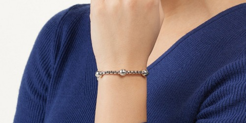 JAI Sterling Silver Chain Bracelet Only $99.95 on QVC.com (Regularly $150)