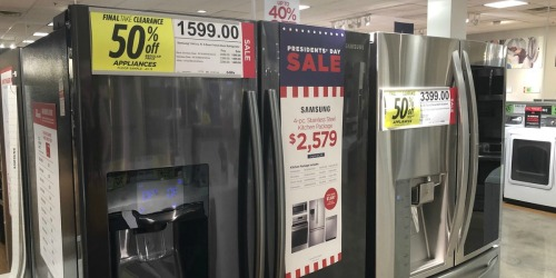 50% Off Select Appliances at JCPenney (GE, Samsung & More)