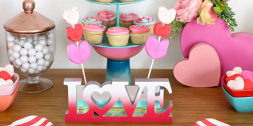 Up to 60% Off Valentine's Decor at JoAnn.com