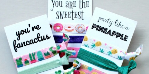 Hair Tie Sets w/ Cards as Low as $5 Each Shipped (Regularly $10)
