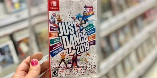Just Dance 2019 Nintendo Switch Game Only $19.99 at Target (Regularly $40)