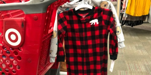 Up to 70% Off Baby & Toddler Pajamas at Target (In-Store & Online)