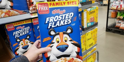RARE Buy One, Get One FREE Kellogg's Cereal Coupon